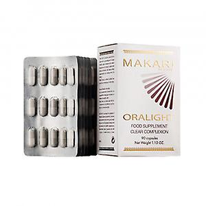 Makari Oralight Clear Complexion - 90 Capsules - Vitamin Supplement for Organic Skin Lightening - Cream & Injection Alternative for Clear Skin Results