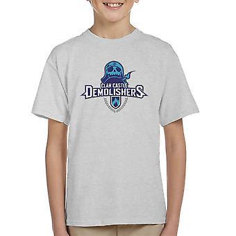 Clash Of Clans Demolishers Kid's T-Shirt