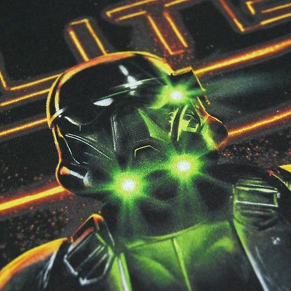 Star Wars Mens Star Wars Rogue One Elite Enforcer T Shirt Black