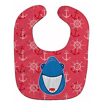 Carolines Treasures  BB6945BIB Shark Wide Open Baby Bib