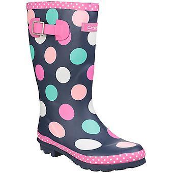Cotswold Gyerekek Dotty Jnr Húzza A Wellington Boot színes
