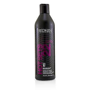 Redken Heat Styling Hot Sets 22 Thermal Setting Mist - 500ml/16.9oz