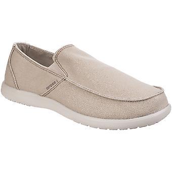 Crocs Herren Santa Cruz sauber schneiden schlüpfen Sie in bequeme Loafer Schuhe