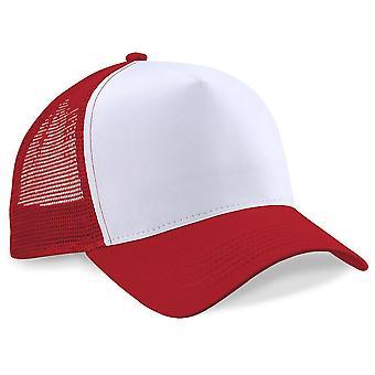 Beechfield Unisex Vintage Snap-Back Trucker Hat