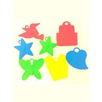 Poids du ballon d'assortis couleurs & Designs (sac de 144)