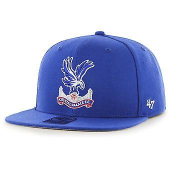 47 Brand Snapback Cap - NO SHOT Crystal Palace FC royal