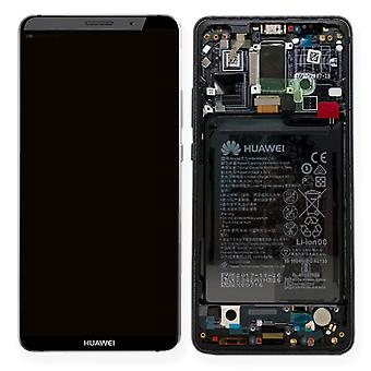 Huawei display LCD unit + 10 Pro Service Pack 02351RVN grey frame for mate