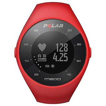 Polar Unisex czerwona M200 GPS M/L nadgarstka HR 90061217 oglądać