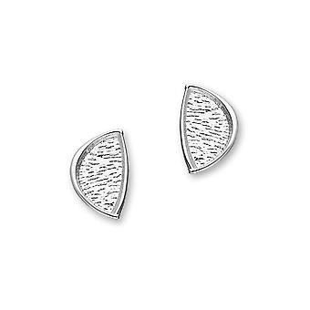 Sterling Silver Traditional Contemporary Modern Haven Design Pair of Earrings - E1782