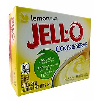 Jell-O citroen Cook & Serve Pudding en Pie vulling