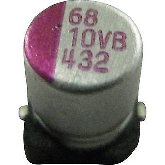 Condensatore SMD 100 Teapo PVB107M016S0ANEA4K elettrolitico µF 16 V 10% (Ø x H) 6,3 x 5,8 mm 1/PC