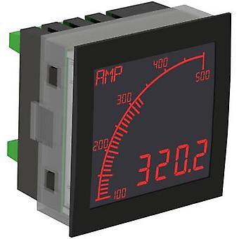 Digital rackmontert meter Trumeter APM-AMP-ANN The APM ammeter, neg.-LCD montering dimensjoner 68 x 68 mm