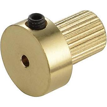 Messing-Koppler einfügen Modelcraft Bohrungsdurchmesser: 4 mm (Ø x L) 13 mm x 15 mm