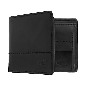 Camel active mens wallet wallet purse with RFID-chip protection black 7383