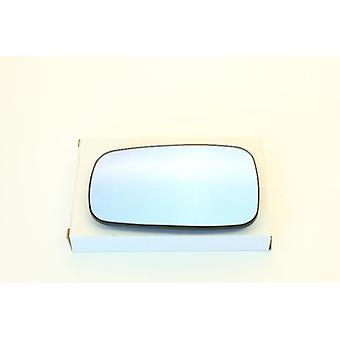 Vänster/höger blå spegelglas (uppvärmd) och hållare för Renault CLIO mk3 2005-2009