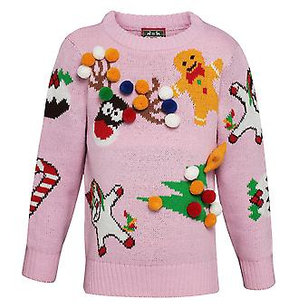 Christmas Shop Childrens/Kids Mix And Match Christmas Jumper