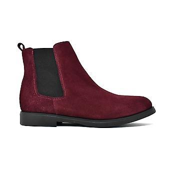أحذية الكاحل ليبرتي في جلد الغزال تشلسي بوردو 21803320-03