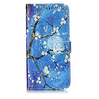 Samsung Galaxy S9 plus Wallet Case-bloemrijke boom