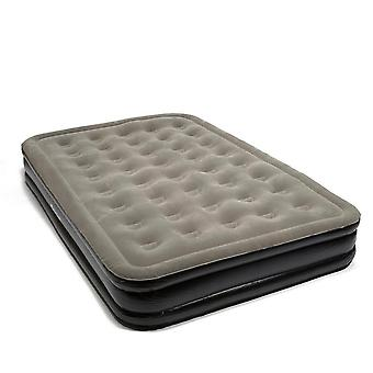 New Outwell Double Flock Excellent Airbed Grey