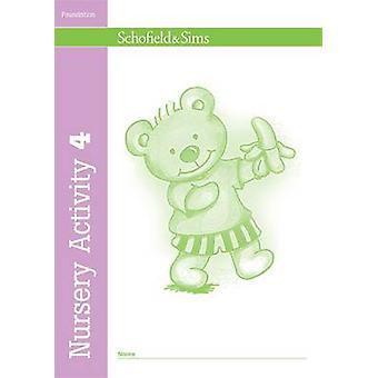 Nursery Activity Book 4 (New edition) by Kathryn Linaker - 9780721708