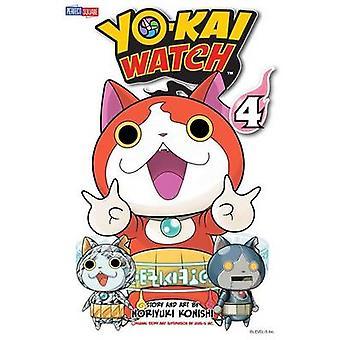 Yo-Kai Watch - Vol. 4 - bind 4 af Noriyuki Konishi - 9781421582740 B