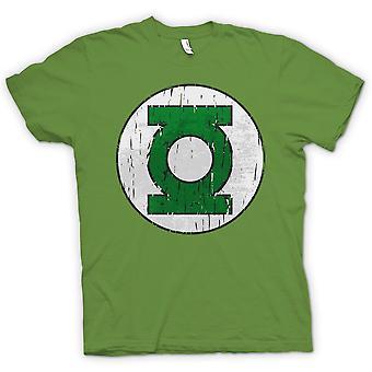 T-shirt Mens - Lanterna Verde Logo - herói em quadrinhos