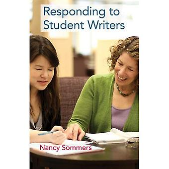 Responding to Student Writers