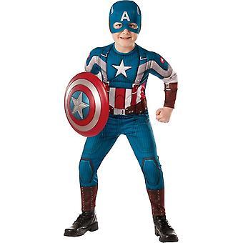 Kapteeni Amerikka lapsi puku
