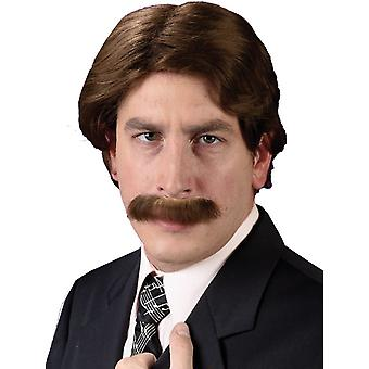 Wig And Mustache Set For Adults
