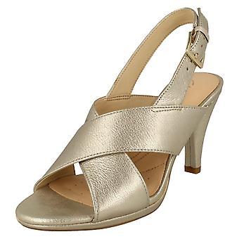 Ladies Clarks krängt Slingback sandaler Dalia Lotus