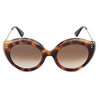 Gucci GG0214S 003 52 Cat Eye solbriller