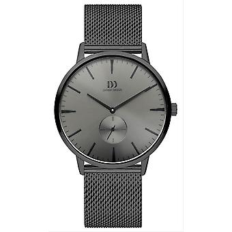 Deens design Tidlos Akilia tweede horloge-grijs