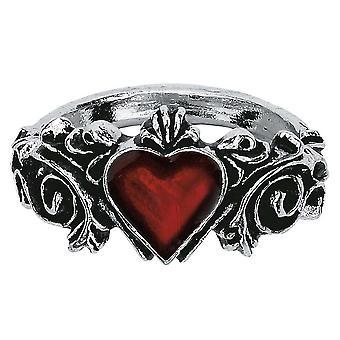 Alkemi gotiska Betrothal tenn ring