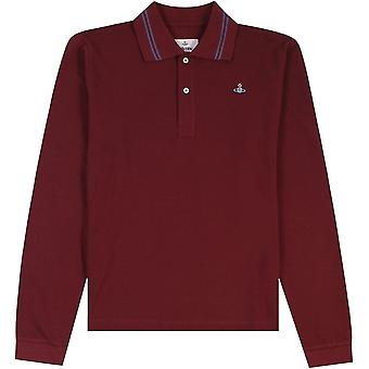 Vivienne Westwood Orb Long Sleeve Polo Shirt