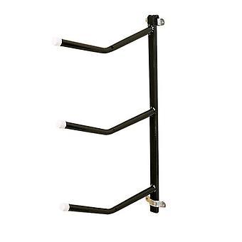 Stubbs Saddle Rack Triple Arm Clip-On S333