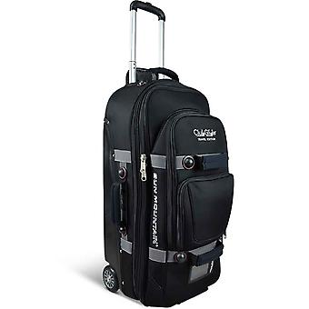 Sun Mountain TravelGlider Wheeled Flight Travel Suitcase Black