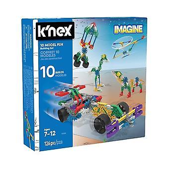 K'NEX Imagine 10 modell morsomt leketøy byggesett