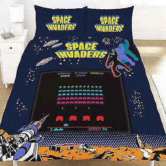 Space Invaders Coin Duvet Set