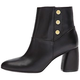 Nine West Womens Kirtley Leather Closed Toe Ankle Fashion Boots