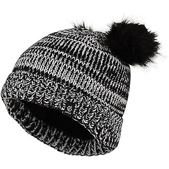 Adare 2b girls Hastily Fleece Lined Faur Fur Bobble Beanie
