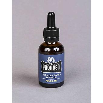 Proraso Beard Oil-Azur Lime (30ml)