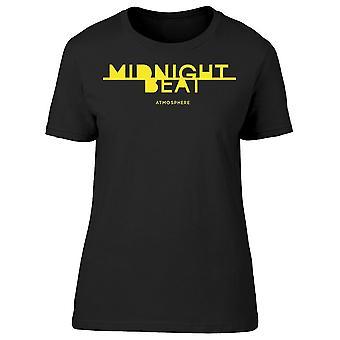 Midnight Beat, Atmosphere Tee Women-apos;s -Image par Shutterstock