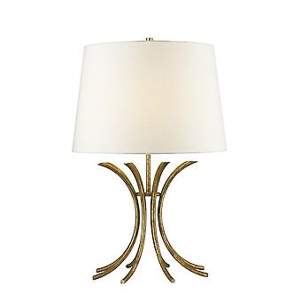 Gilded Nola Gilded Nola Distressed Gold Traditional Table Lamp