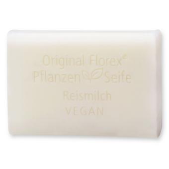 Florex Vegan plantaardige olie zeep-rijstmelk-romige oliën Verwen en zorg voor de huid 100 g