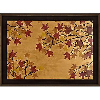 Maple leaf tapestry traditional style by paragon