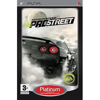 Need for Speed ProStreet Platinum (PSP)-fabriken förseglad