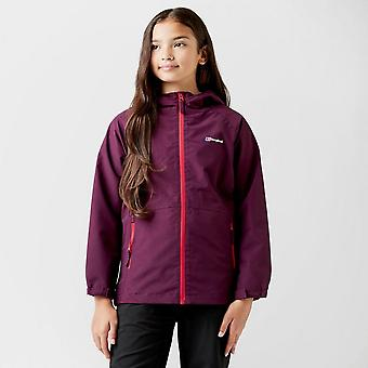New Berghaus Girl's Bowood Waterproof Jacket Purple