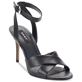 DKNY Womens ivy Open Toe Ankle Strap Classic Pumps