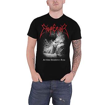 Emperor T Shirt As The Shadows Rise Band Logo new Official Mens Black