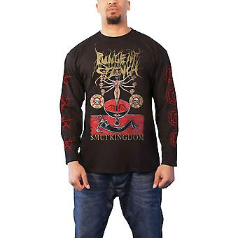 Pungent Stench T Shirt Smut Kingdom 1 new Official Mens Black Long Sleeve